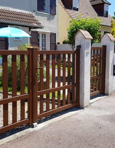 portail et portillon en bois